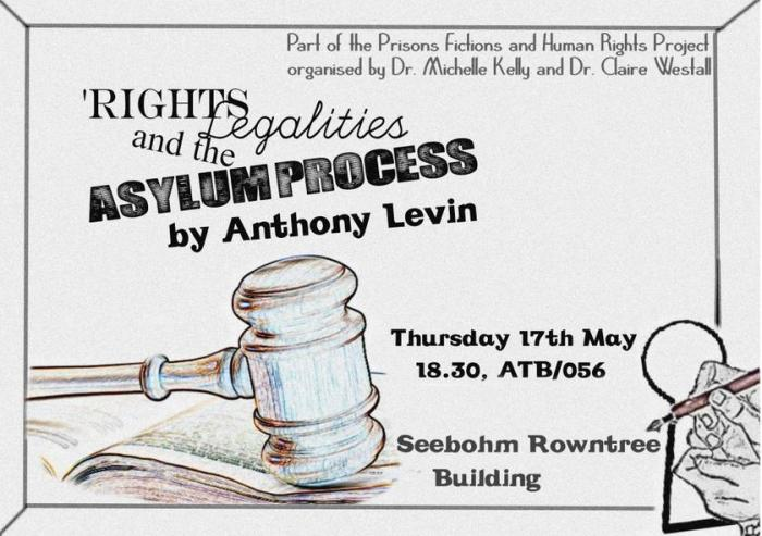 Interested in Human Rights Law? Tonight: 17th May, 6.30.