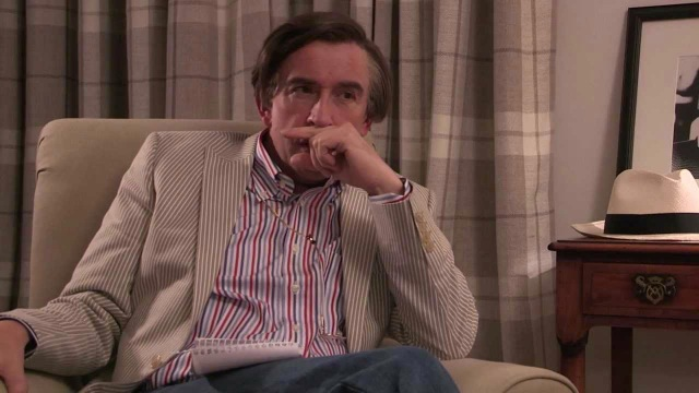 """""""Steve Coogan as Alan Partridge in his video short supporting the Hacked Off Campaign"""""""
