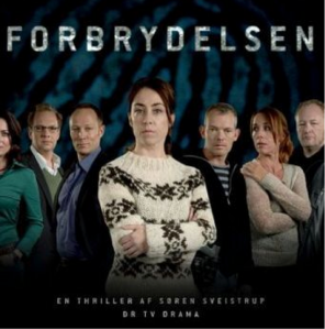 """Forbrydelsen"" - The original name of the Danish TV show, translated into English as ""The Killing"""